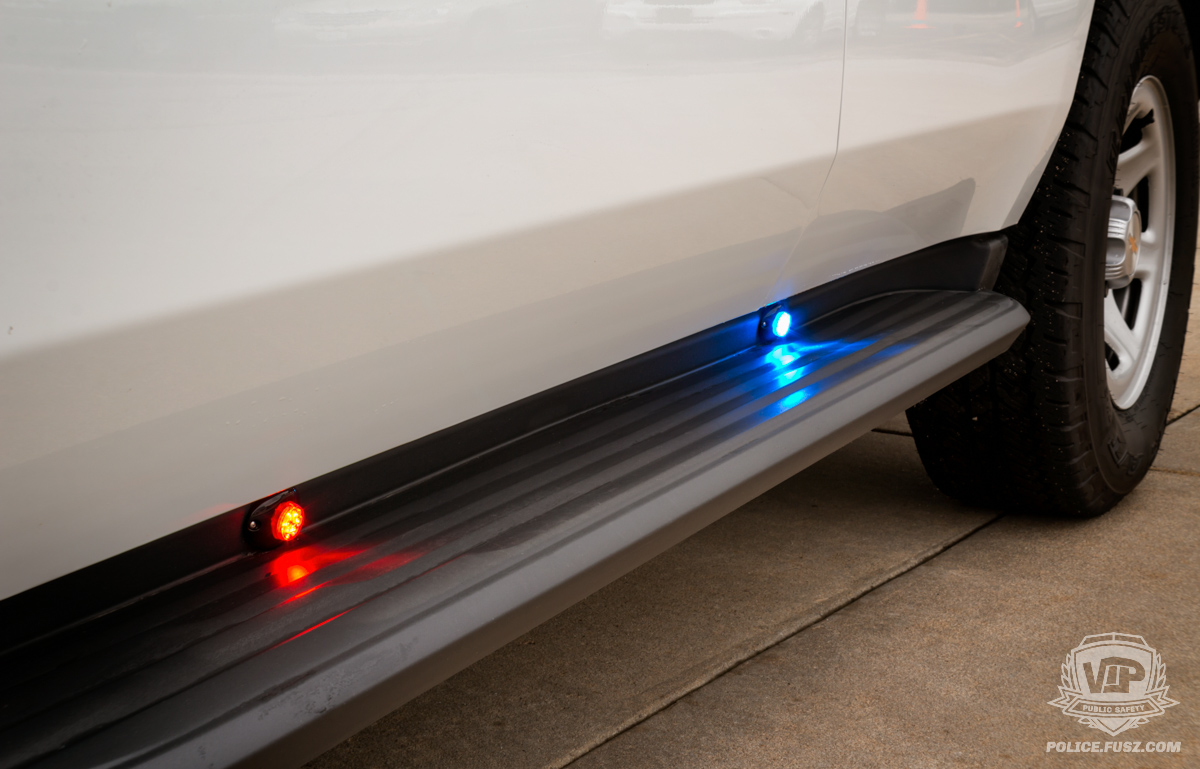 2016 chevy tahoe emergency running board led lights