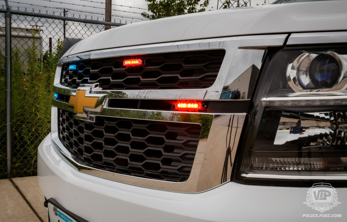 2016 chevy tahoe emergency grille led lights
