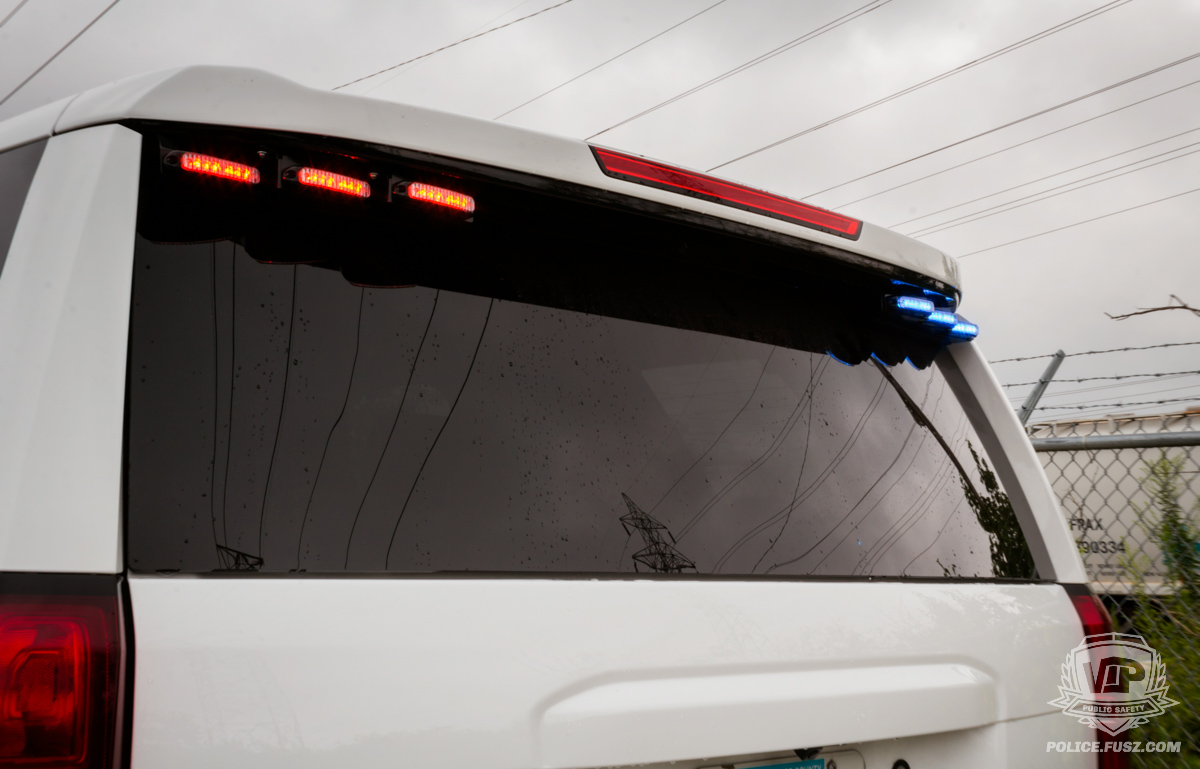 2016 chevy tahoe emergency rear led lights
