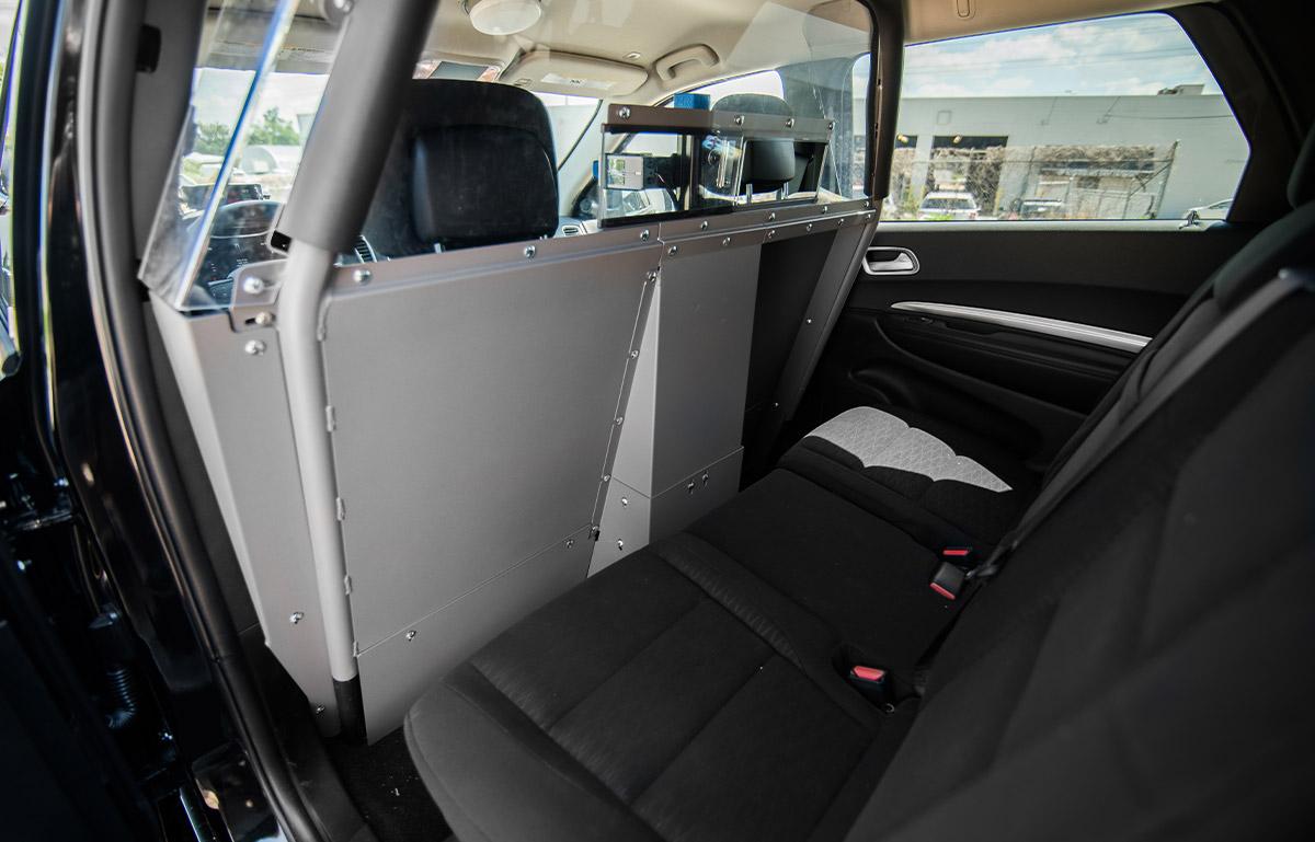 2019 dodge durango blackout pursuit package interior rear
