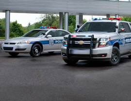 chevy police vehicles