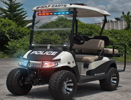 police golf carts